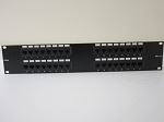 32 PORT CAT 5E PATCH PANEL